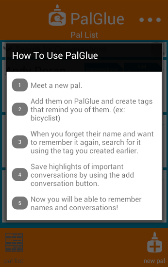 how to use palglue